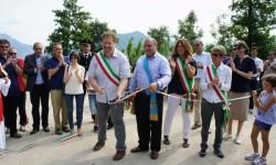 inaugurazione pista ciclo-pedonale Annone/Suello