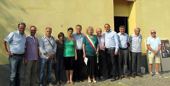 Inaugurazione Museo memoria contadina (foto casateonline.it)